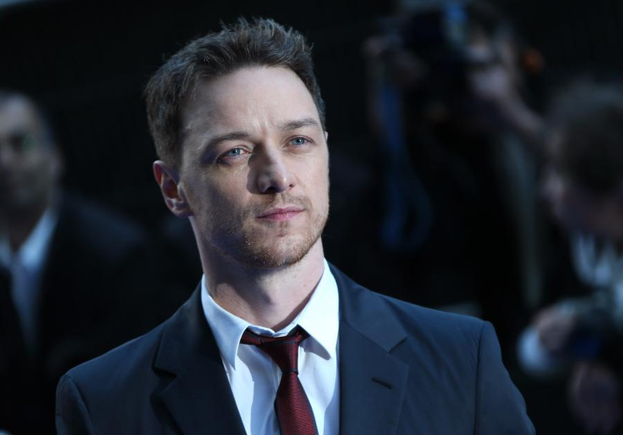 James McAvoy na premierze \
