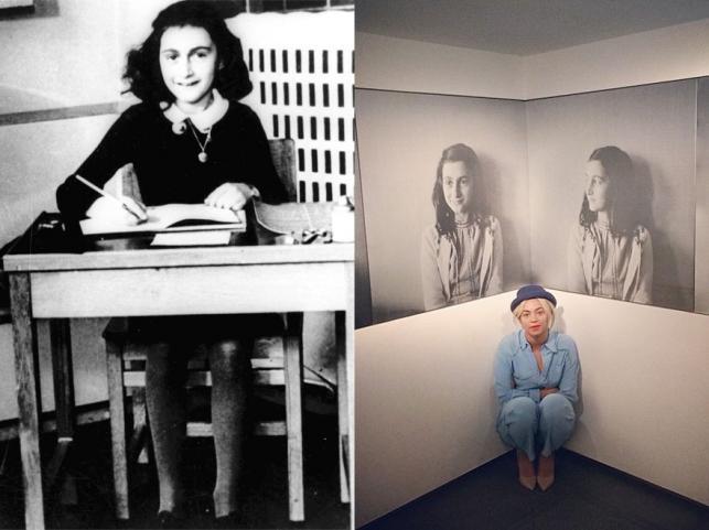 Beyoncé odwiedziła muzeum Anny Frank w Amsterdamie
