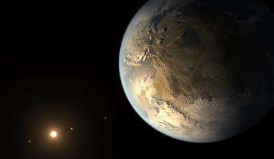 Wizja planety Kepler-186f