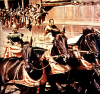 "Charlton Heston i Stephen Boyd w legendarnym filmie ""Ben Hur"" Williama Wylera z 1959 roku"