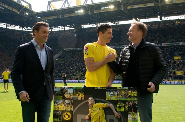 Tak Dortmund pożegnał Roberta Lewandowskiego
