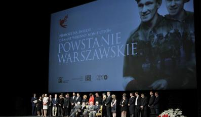 Uroczysta premiera filmu Powstanie Warszawskie
