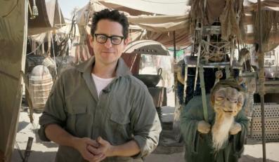 """J.J. Abrams na planie """"Star Wars: Episode VII"""" w Abu Dhabi"""