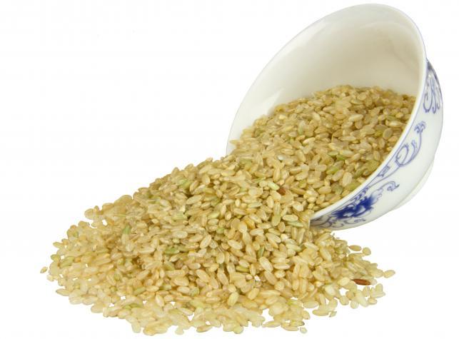 Zdrowy ryż brązowy