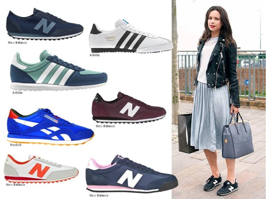 Modne buty sportowe lato 2014