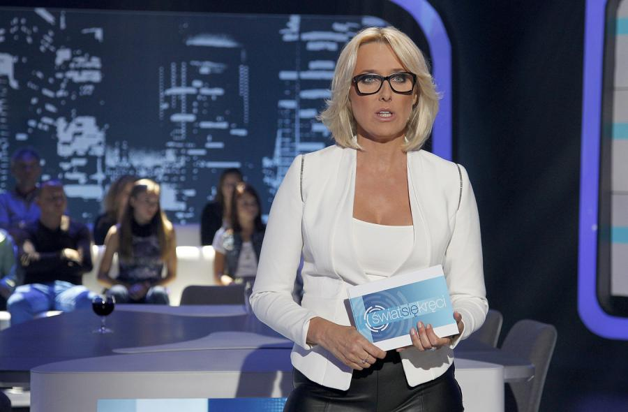 Agata Młynarska w \