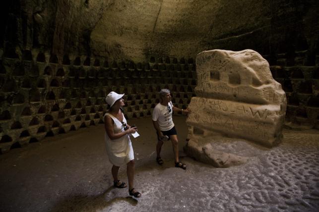 Jaskinie Maresza i Bet Guwrin. Starożytne podziemne miasto