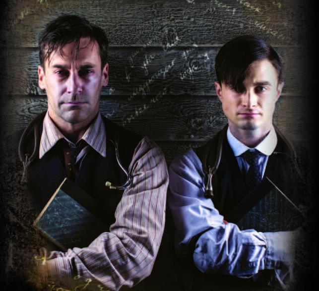 """Jon Hamm i Daniel Radcliffe w serialu """"Zapiski młodego lekarza"""""""