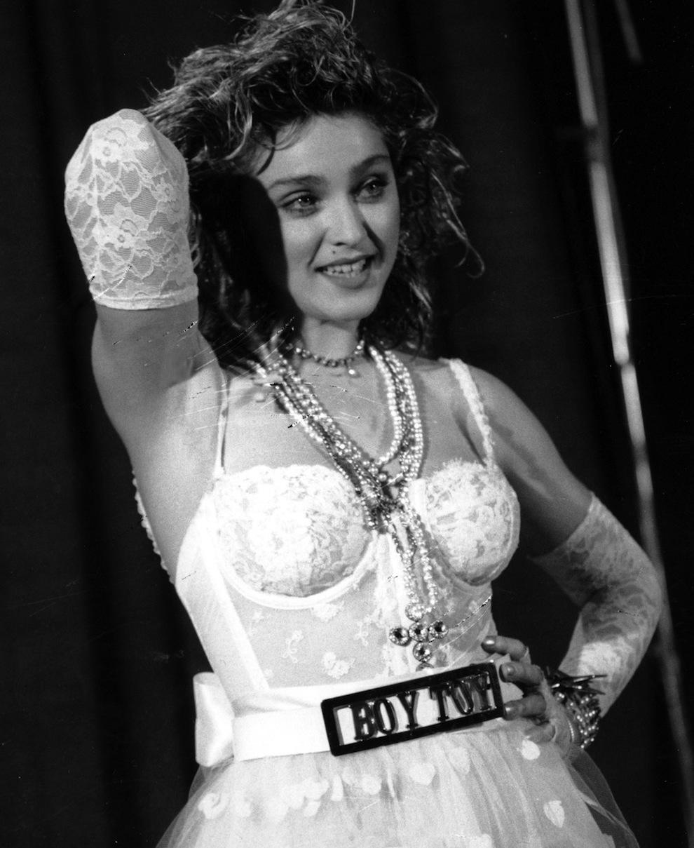 A tak prezentowała się Madonna w roku 1984