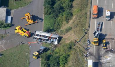 Tragedia na niemieckiej autostradzie