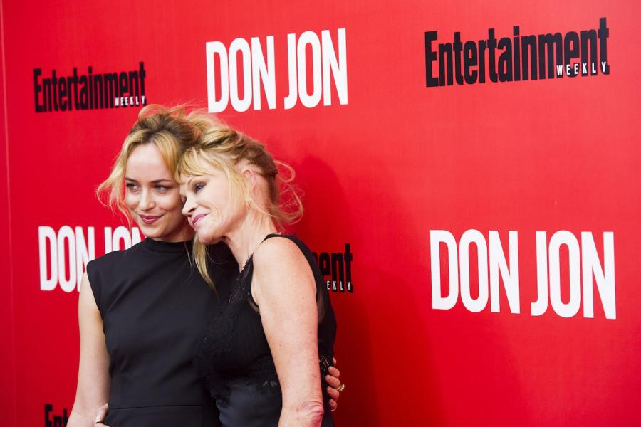 Dakota Johnson z mamą Melanie Griffith