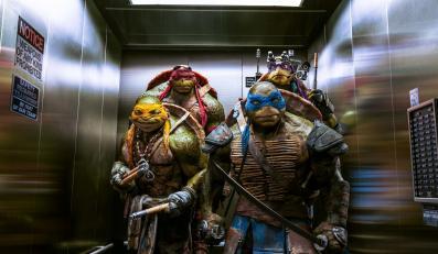 Żółwie Ninja nadal najlepsze w Amerycę