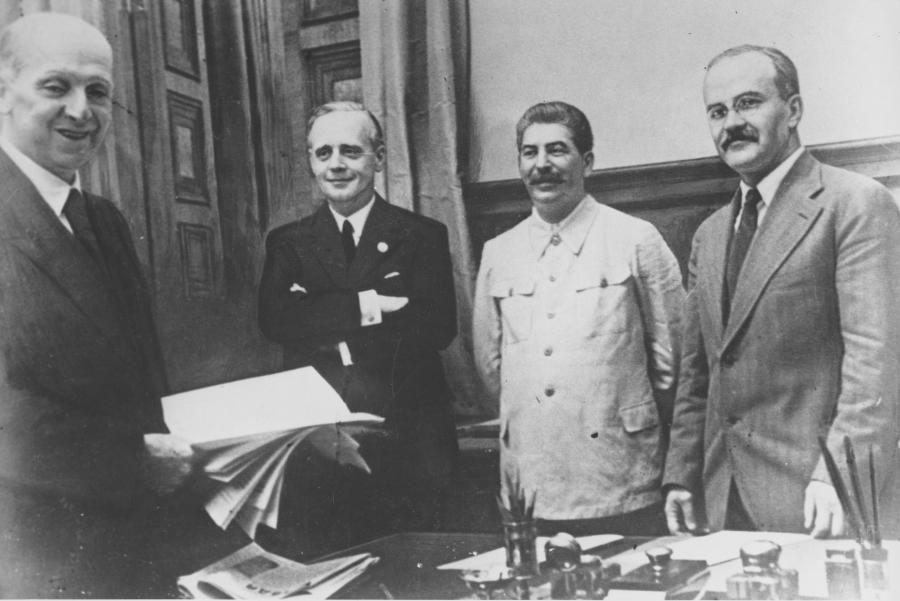 Podpisanie traktatu w Związku Radzieckim