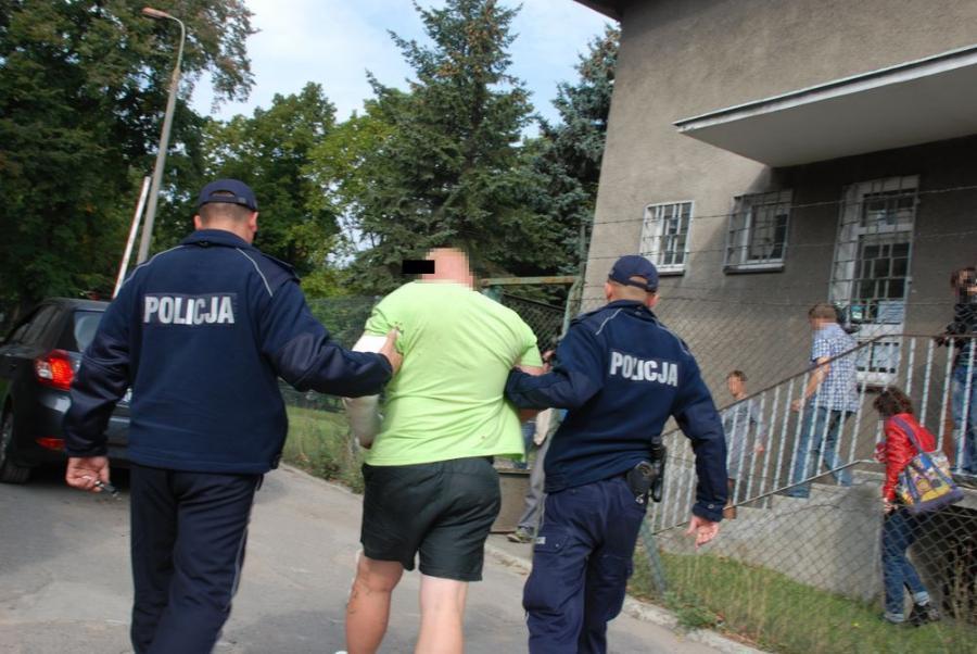 Leszek F. w rękach policji