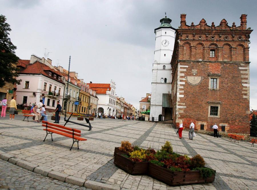 Sandomierskiej starówce grozi zagłada