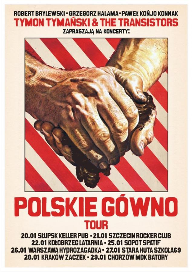 """""""Polskie gówno"""" na żywo"""