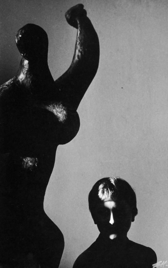 "Edward Hartwig, ""Córka Danusia"", 1954"