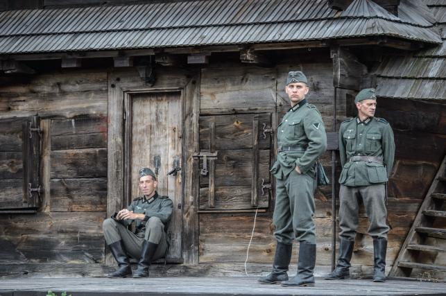 """Plan filmu """"Wołyń"""" w Kazimierzu Dolnym"""