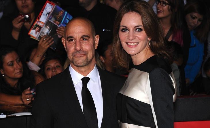 Stanley Tucci i jego żona Felicity Blunt oczekują dziecka