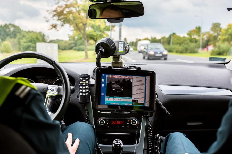 Samochód ITD z radarem