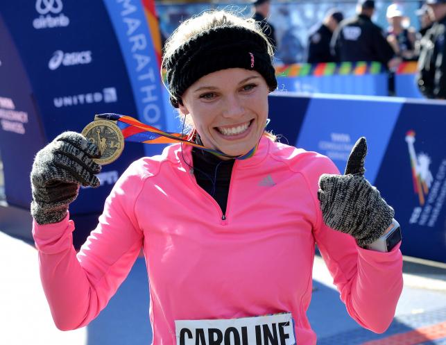 Caroline Wozniacki ukończyła... maraton w Nowym Jorku
