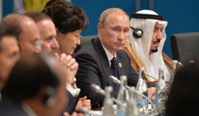 Władimir Putin na szczycie G20