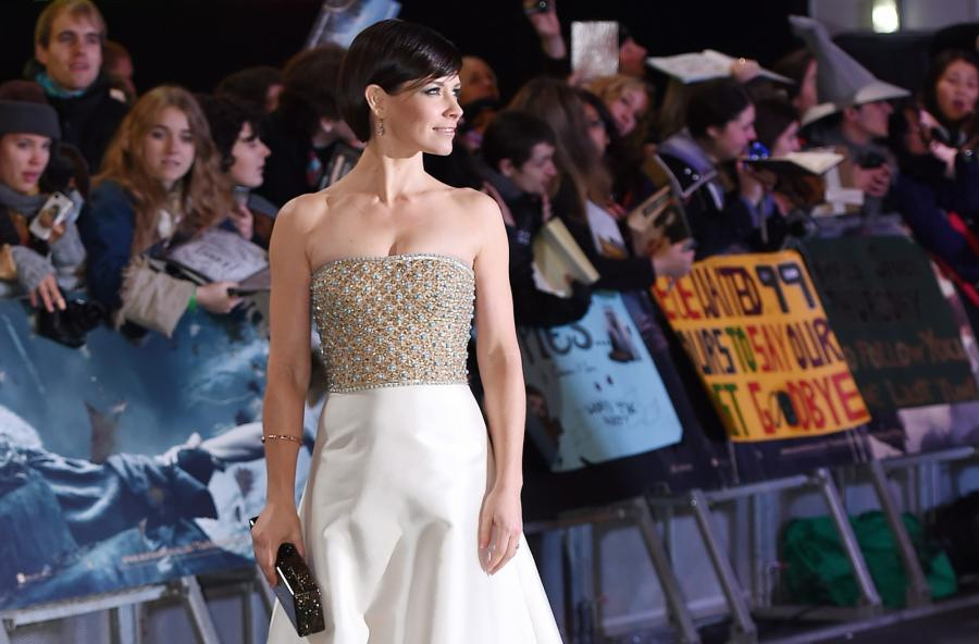Evangeline Lilly na premierze w Londynie