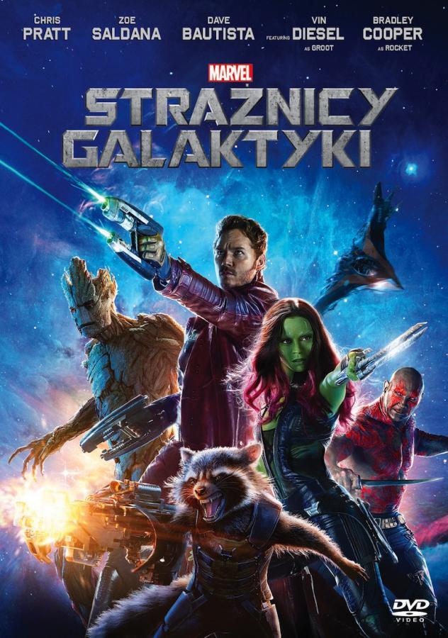 """""""Strażnicy Galaktyki"""" w reżyserii Jamesa Gunna ukazali się na DVD i Blu-ray nakładem Galapagos"""