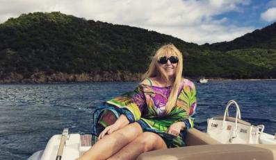 Maryla Rodowicz na Karaibach