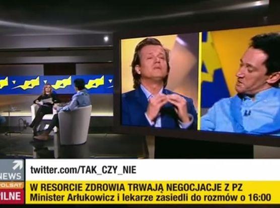 Michał Wiśniewski i Jarek Jakimowicz w programie Agnieszki Gozdyry \