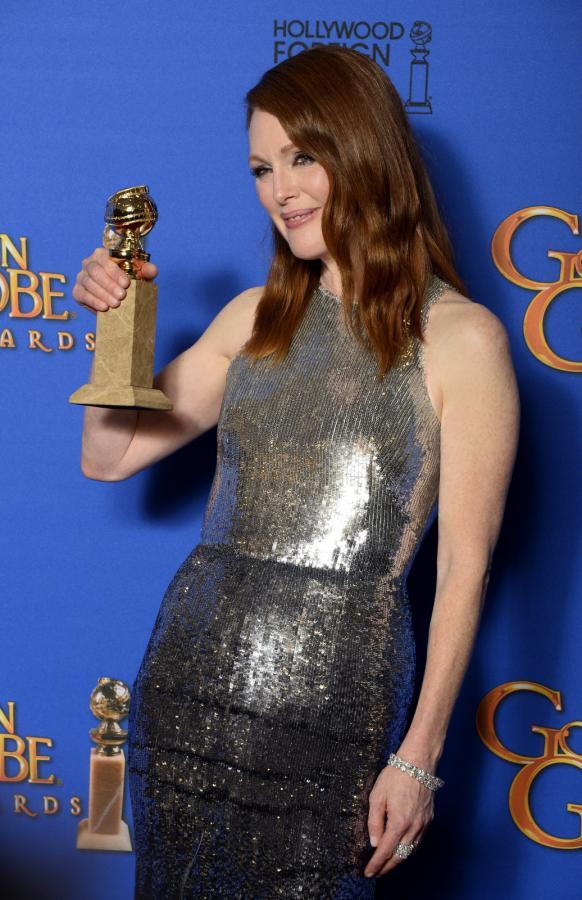 """Najlepsza aktorka w filmie dramatycznym:<br>Julianne Moore – """"Still Alice"""""""