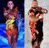 Katy Perry całkiem jak wrestler Bam Bam Bigelow