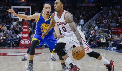 Jeff Teague i Stephen Curry