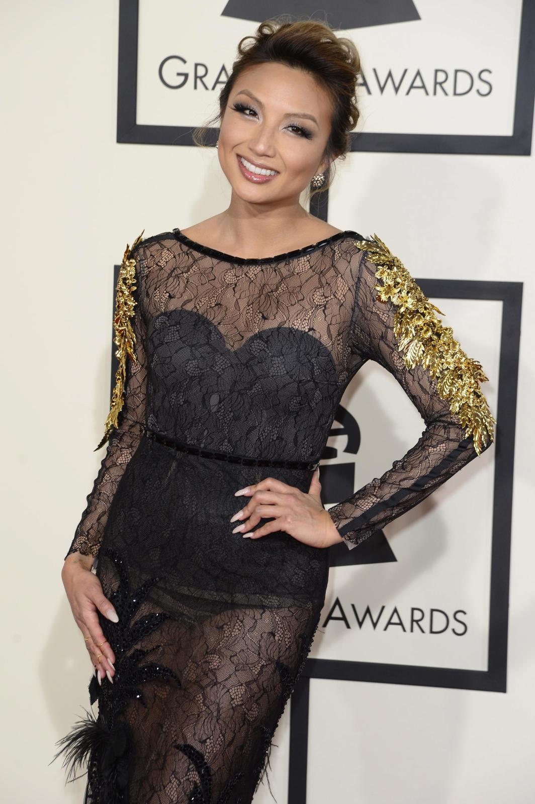 Najbardziej rozebrane gwiazdy na gali Grammy 2015: Jeannie Mai