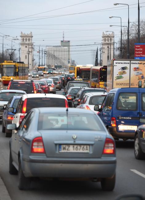 Zamknięty Most Łazienkowski