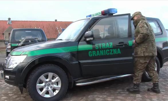 Straż Graniczna dostała mitsubishi pajero
