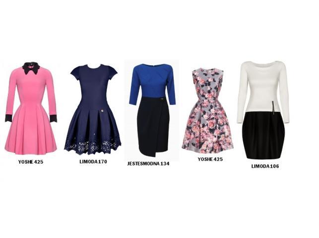 Sukienki maskujące masywne uda