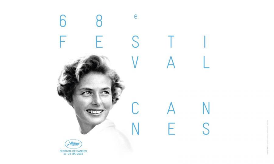 Oficjalny plakat festiwalu w Cannes 2015