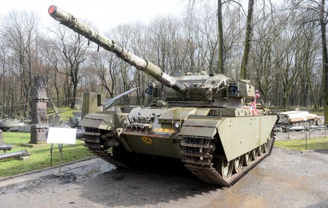 Czołg CENTURION MK-5 podarowany Polsce przez króla Niderlandów