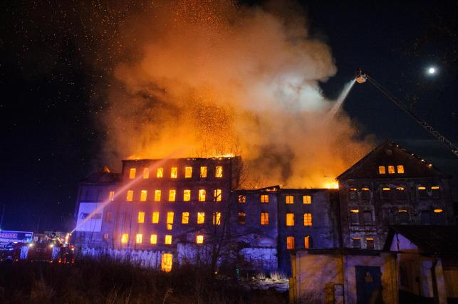 Pożar młynu Szancera