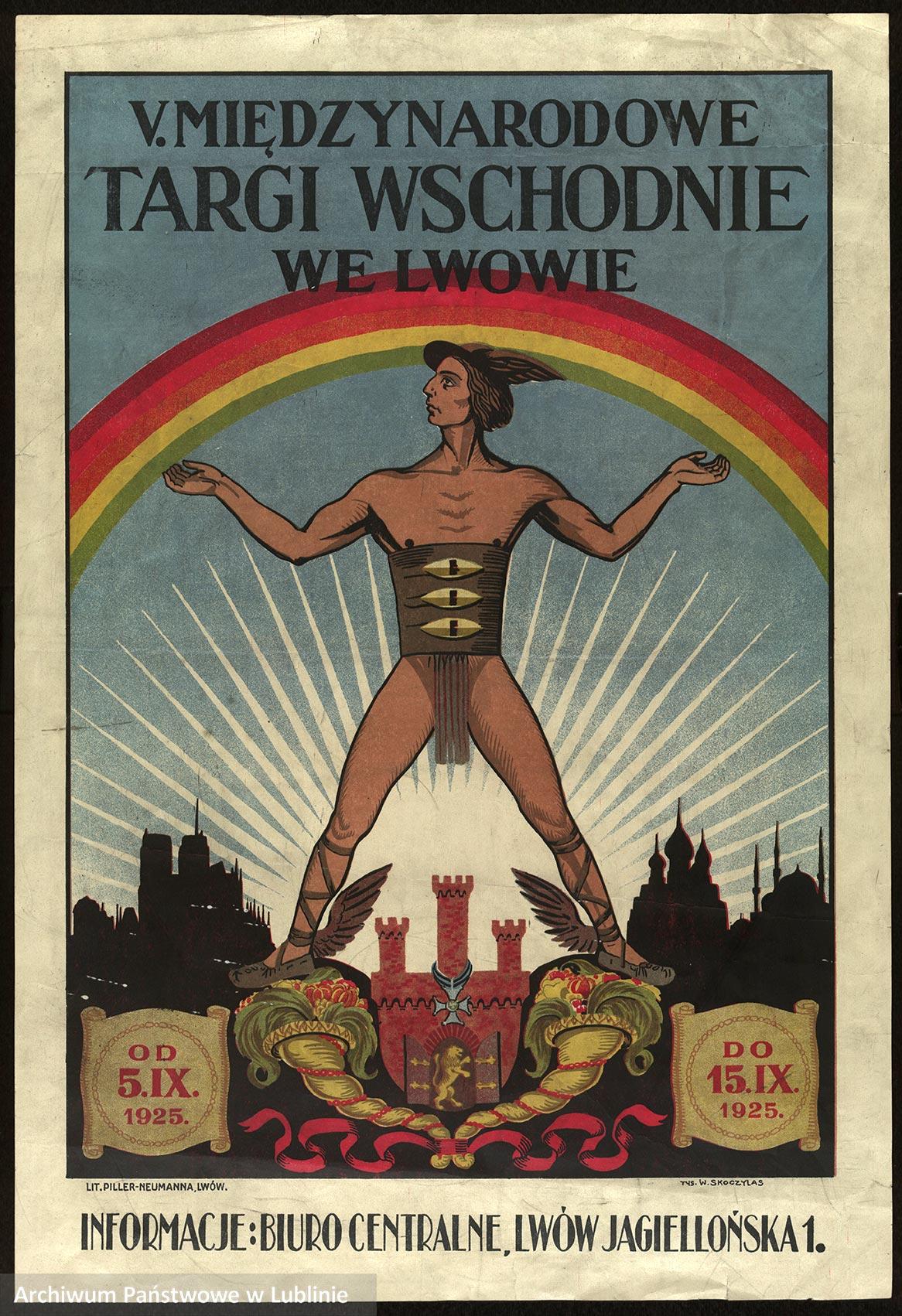 """""""Polski plakat propagandowy dwudziestolecia międzywojennego"""", zbiory Archiwum Państwowego w Lublinie"""