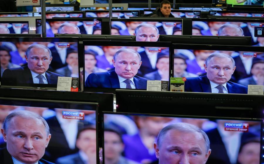 Władimir Putin w programie \