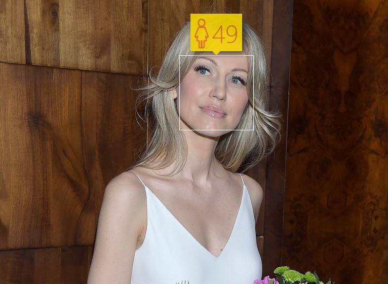 Magdalena Ogórek i jej wiek według How-Old.net