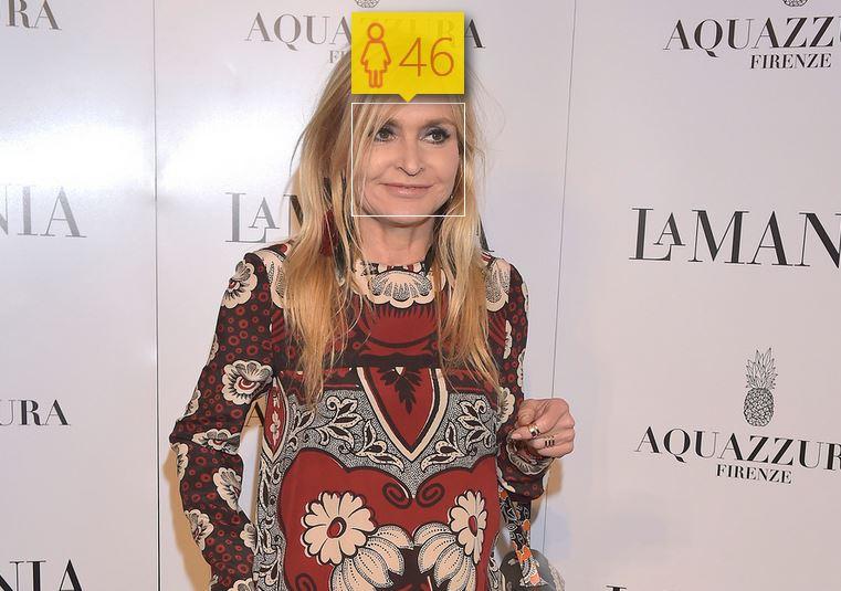 Monika Olejnik i jej wiek według How-Old.net