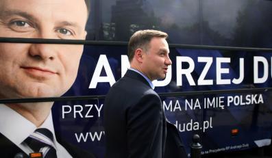 Andrzej Duda przed dudabusem