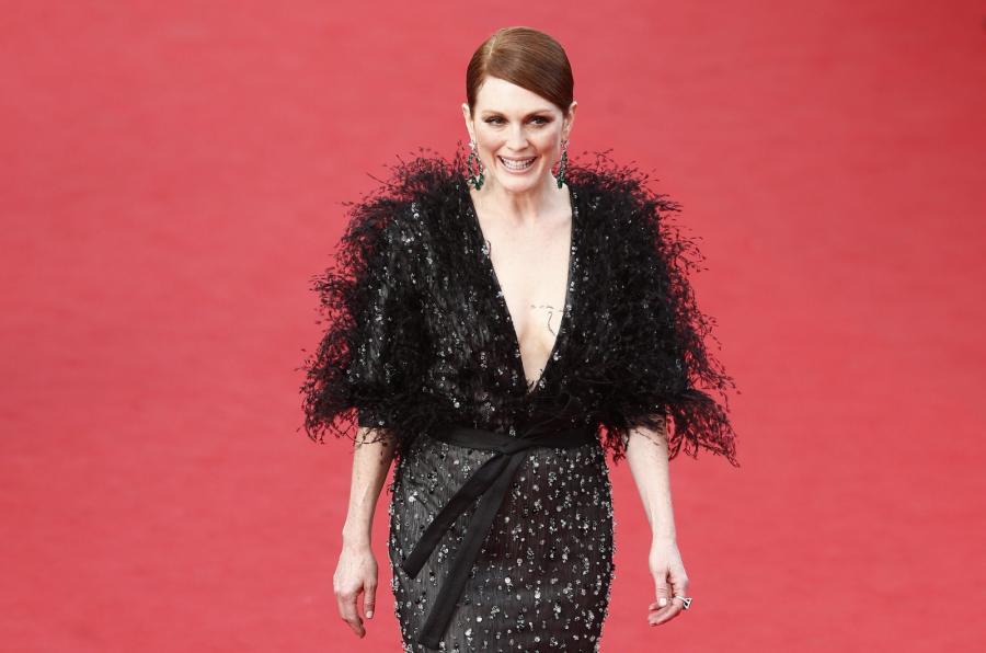 Julianne Moore na festiwalu w Cannes