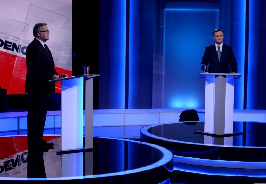 Debata telewizyjna Bronisława Komorowskiego i Andrzeja Dudy