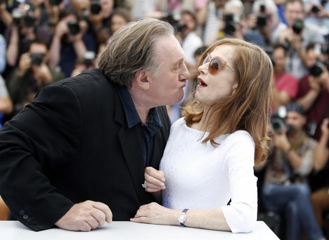 "Gerard Depardieu i Isabelle Huppert – gwiazdy filmu ""Valley of Love"" w Cannes"
