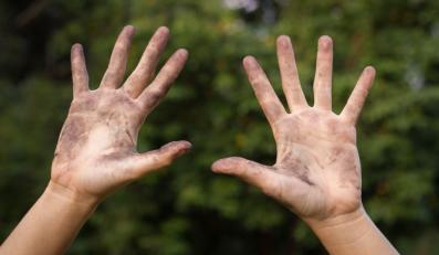 Ręce dziecka