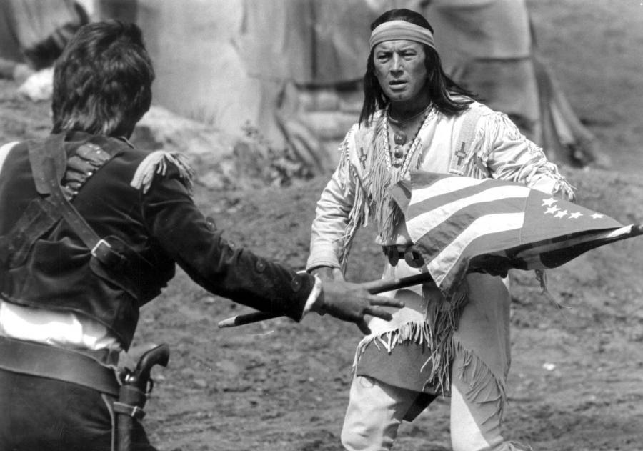 Pierre Bryce jako Winnetou